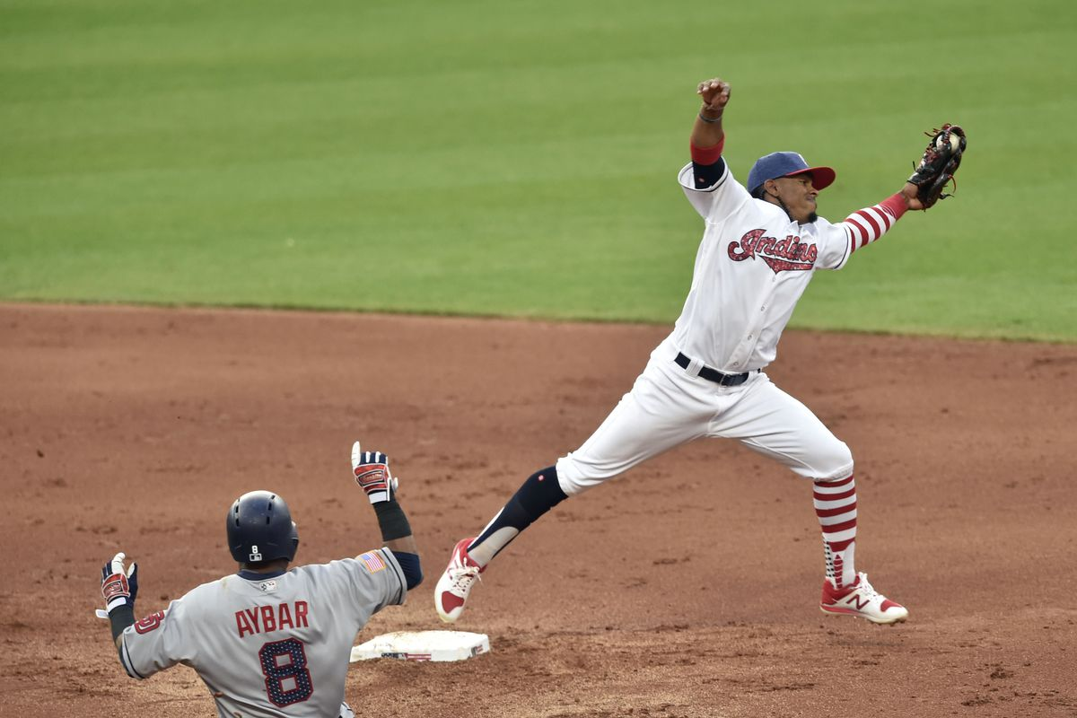 MLB: San Diego Padres at Cleveland Indians