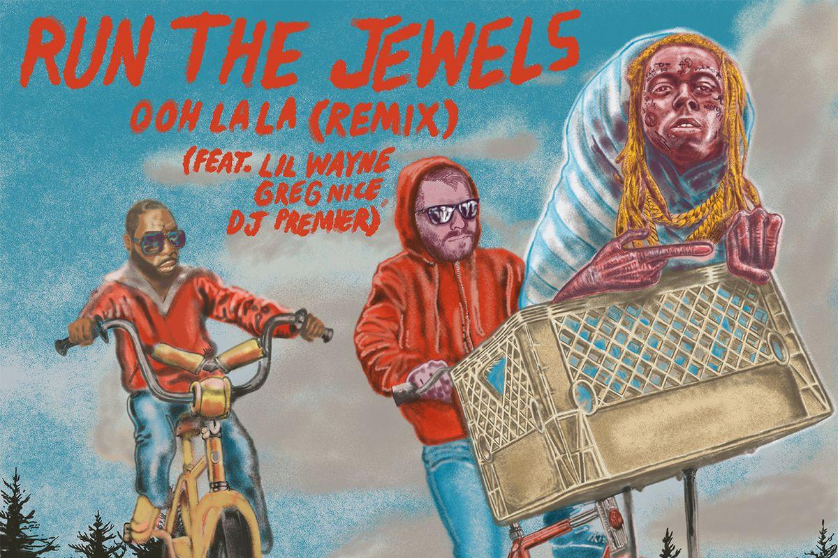 "Run The Jewels' ""Ooh La La (Remix)"" artwork"
