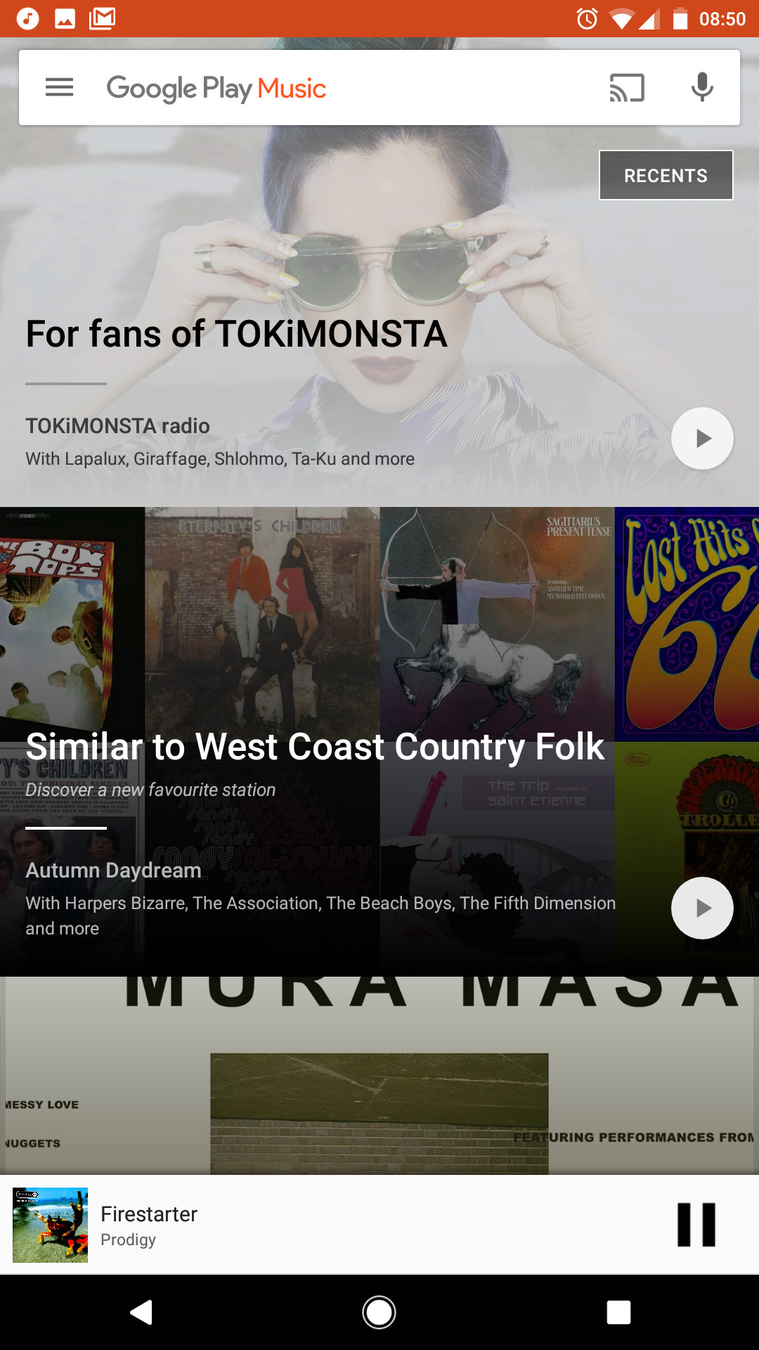 Google Play Music on Android is now playable from search