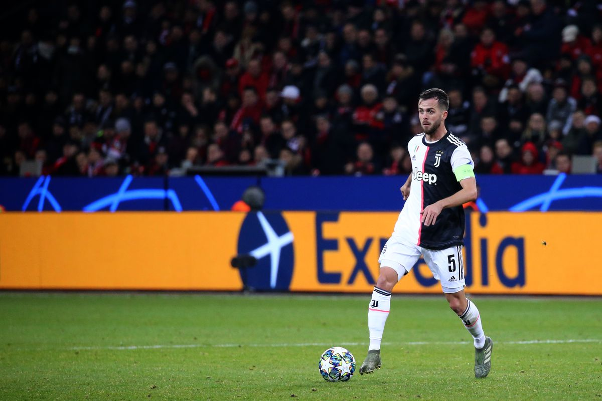 Miralem Pjanic of Juventus FC in action during the Uefa...