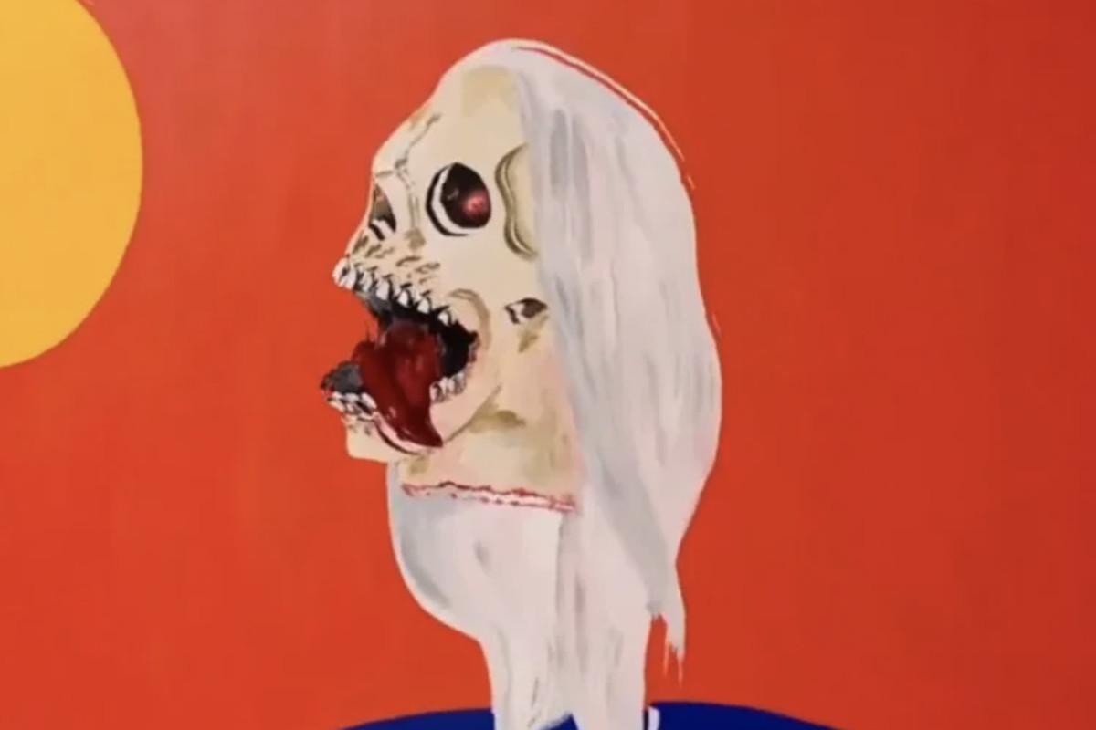 "Kanye West's ""Nah Nah Nah (Remix)"" artwork"