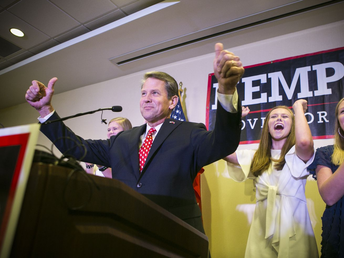Brian Kemp in Athens, Georgia, on July 24, 2018.