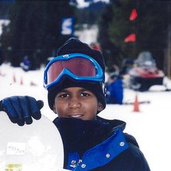 FILE - This undated file photo provided by the Martin family, shows Trayvon Martin snowboarding. Martin was slain in the town of Sanford, Fla., on Feb. 26 in a shooting that has set off a nationwide furor over race and justice.