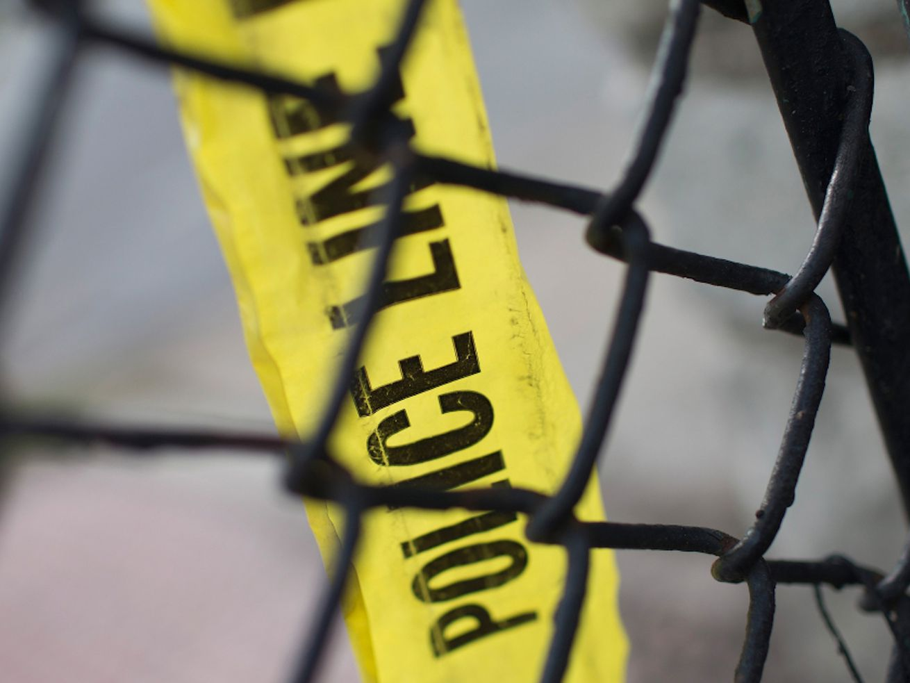 A shooting left two people wounded, including a teenage girl, May 24, 2021, in South Chicago.