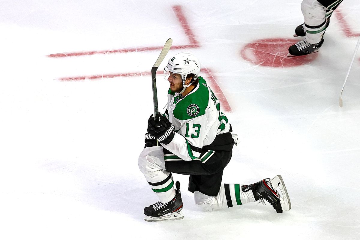 Mattias Janmark made it to the Stanley Cup Final with the Stars this past season.