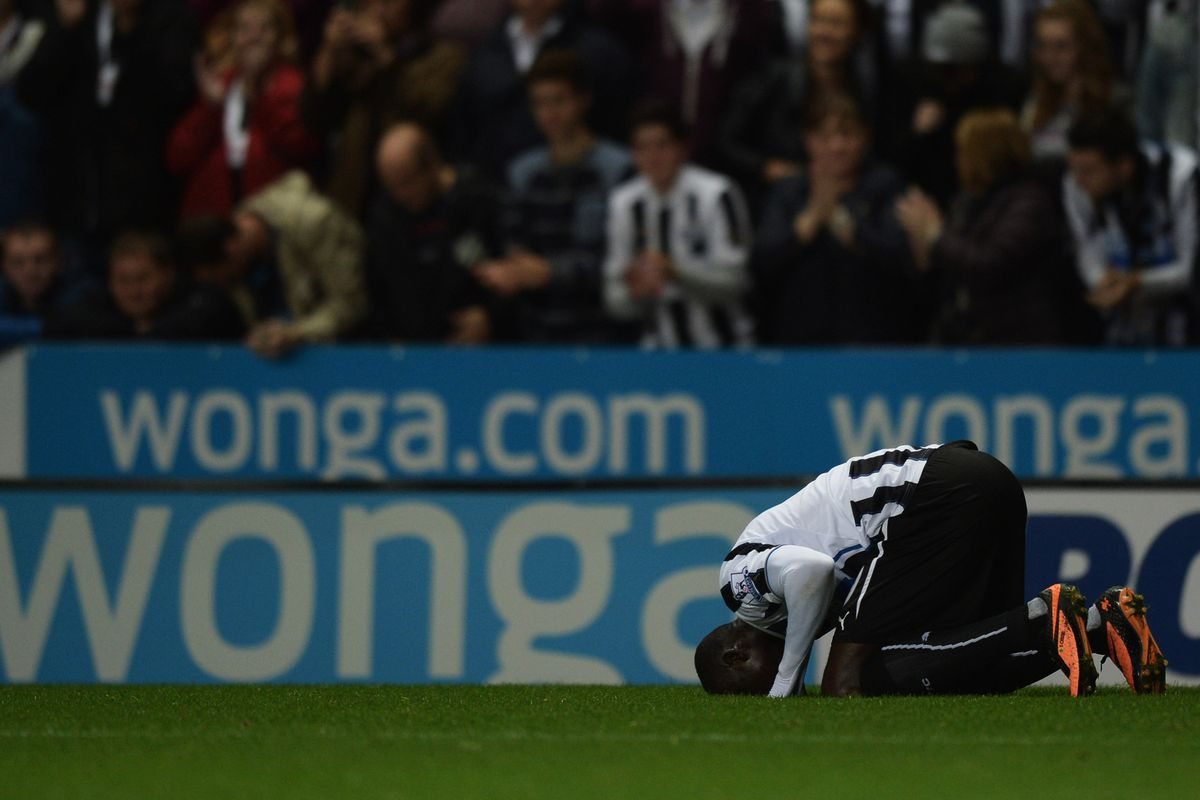 A welcome sight at St. James' Park