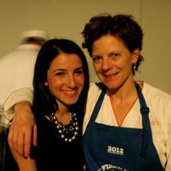 Jody Adams and Rebecca Fetner of Trade and Rialto.