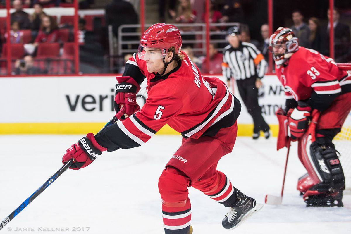 Hanifin on Rocketsin kapellimestari