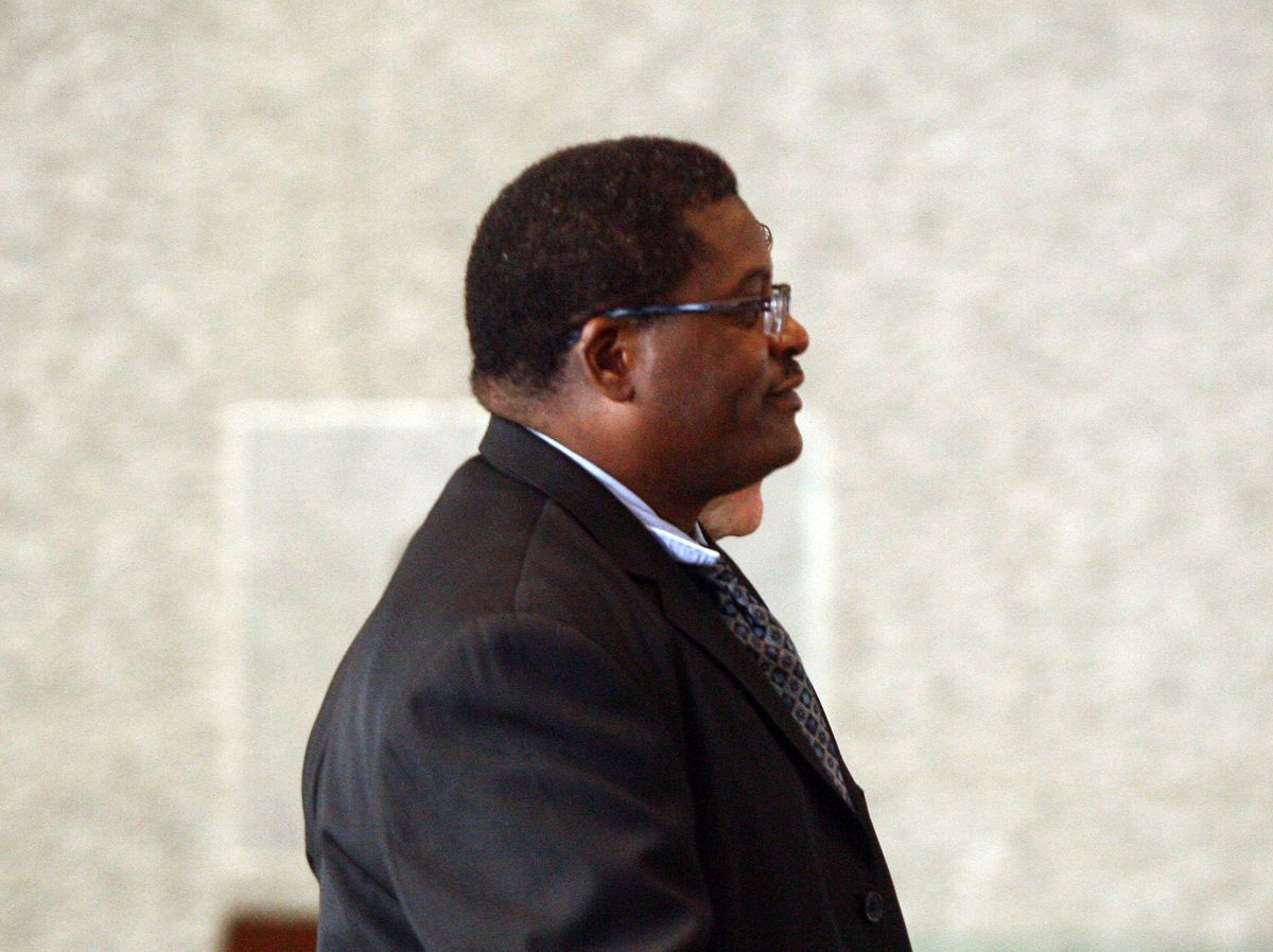 Former Chicago Police Sgt. Ronald Watts is shown at the federal courthouse in 2013.