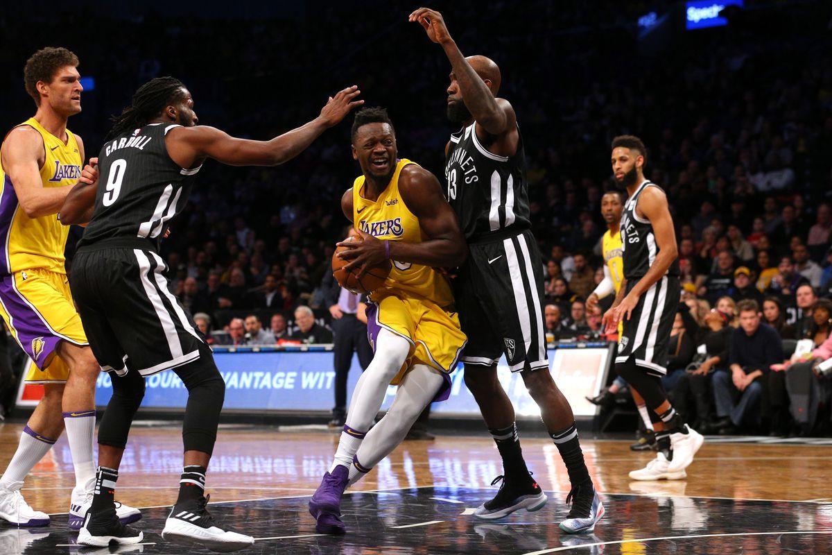 Lakers Vs Nets Final Score Julius Randle Brandon Ingram Power 102 99 Victory