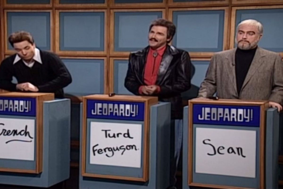 Sean Connery Jeopardy