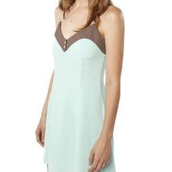 """<b>In God We Trust</b> Mint Peaches dress, <a href=""""http://ingodwetrustnyc.myshopify.com/collections/womens/products/mint-peaches-dress"""">$220</a>"""