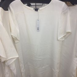 Theory white short sleeve dress, $49 (from $325)
