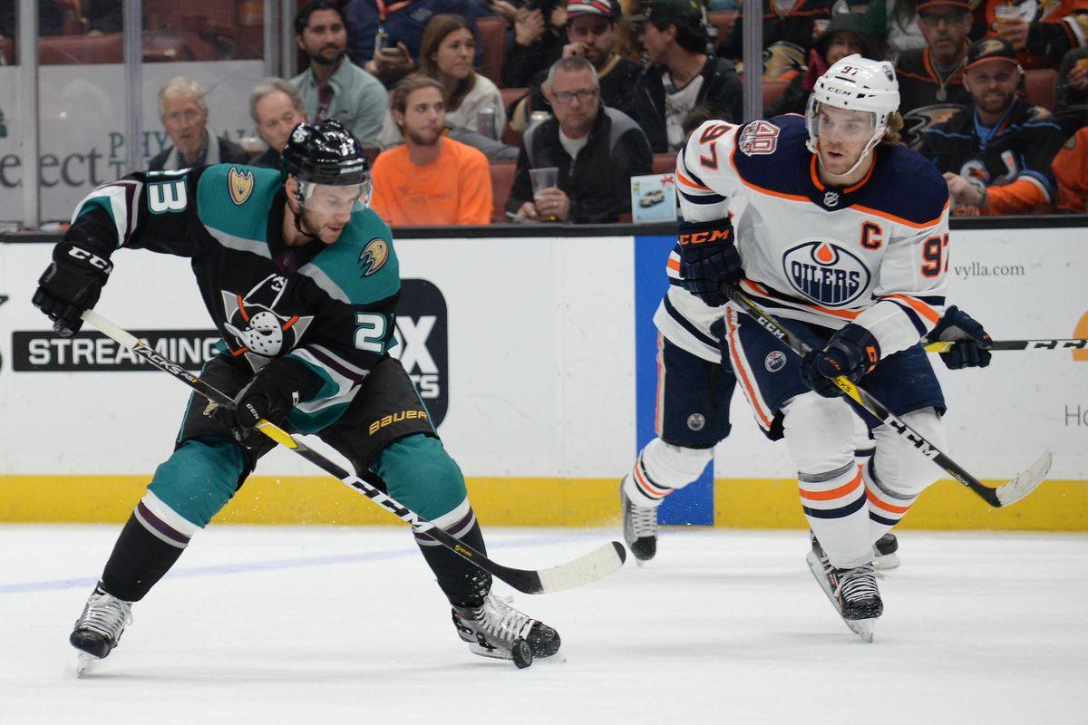 NHL: Edmonton Oilers at Anaheim Ducks