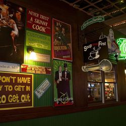 Another look at the campy decor at Carlos'n Charlie's.