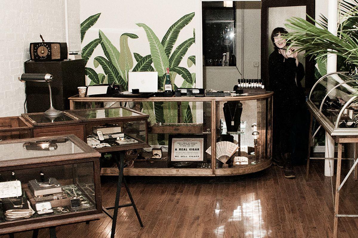 "Photo of Erica Weiner's Brooklyn shop by <a href=""http://michellesmithmclaughlin.com/"">Michelle McLaughlin</a>/Courtesy of Erica Weiner"