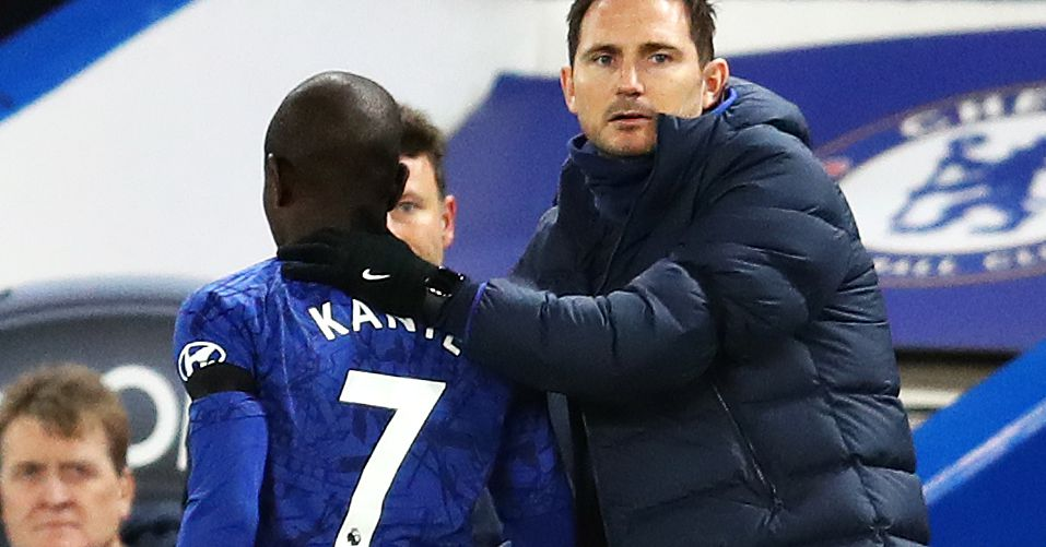 Lampard confirms Kanté's broken, again, and today's just the worst