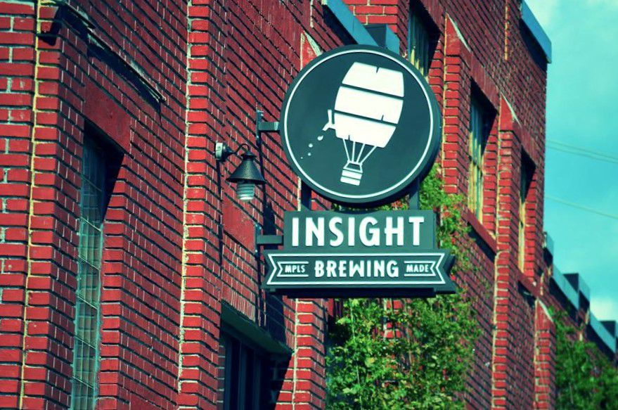 Outside the brewery. Photo courtesy Insight Facebook page.