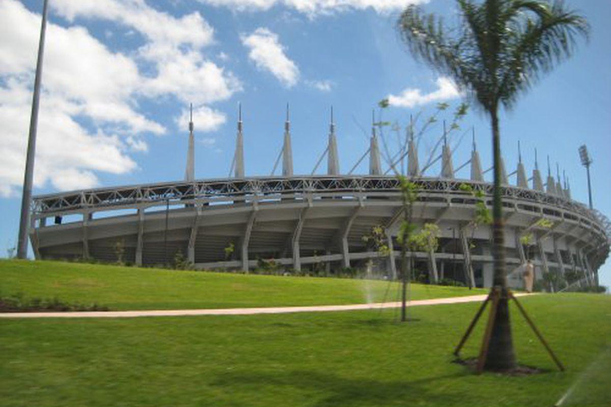 Thomas-Robinson Stadium in Nassau