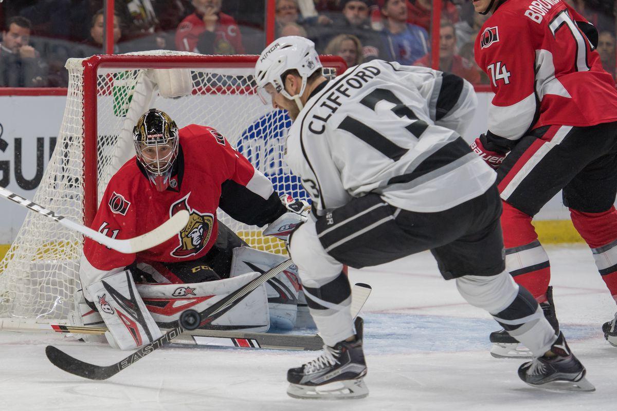 NHL: Los Angeles Kings at Ottawa Senators