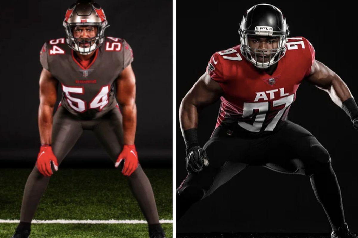 The Falcons' new jerseys made all the mistakes the Buccaneers didn ...