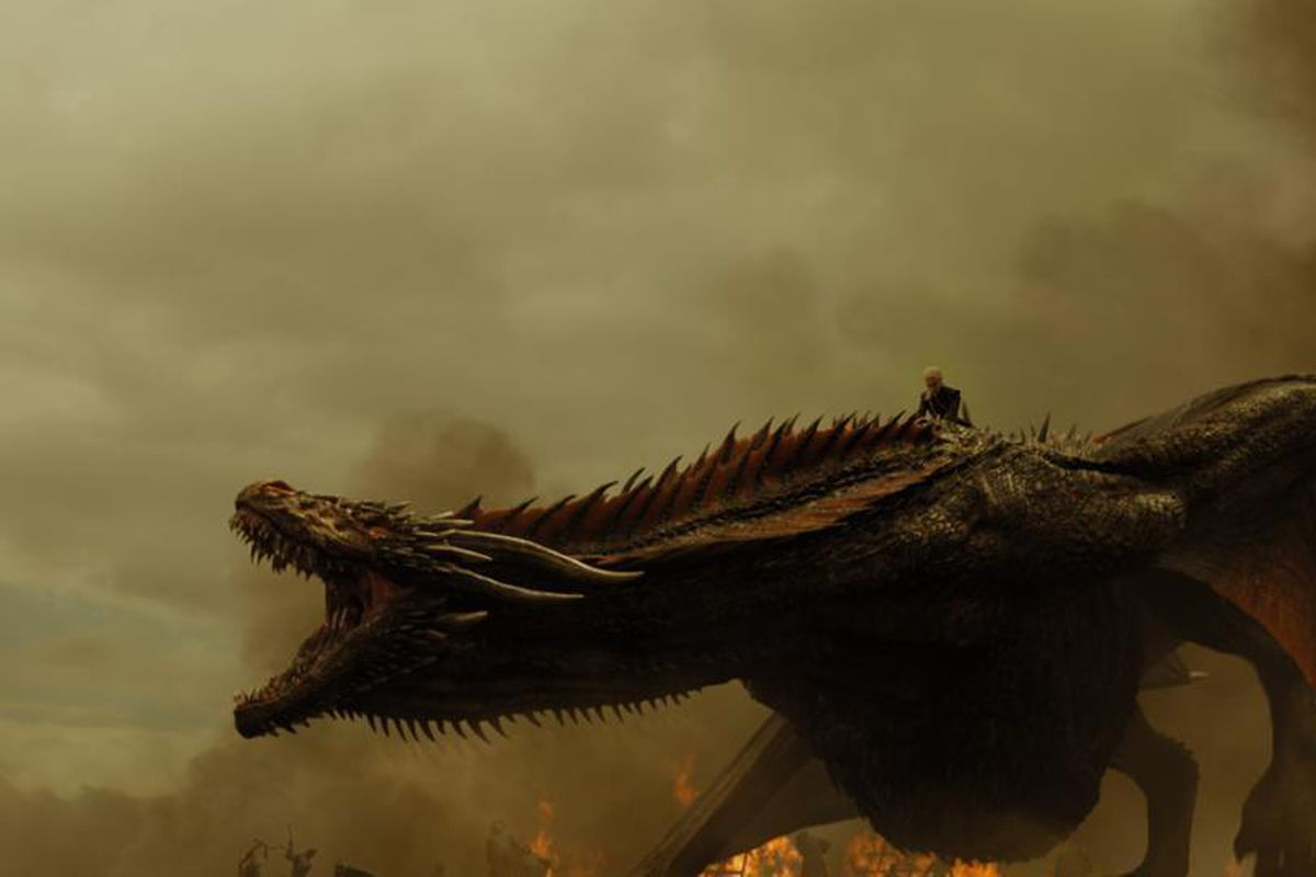 game of thrones season 7 the dragon battle was spectacular and