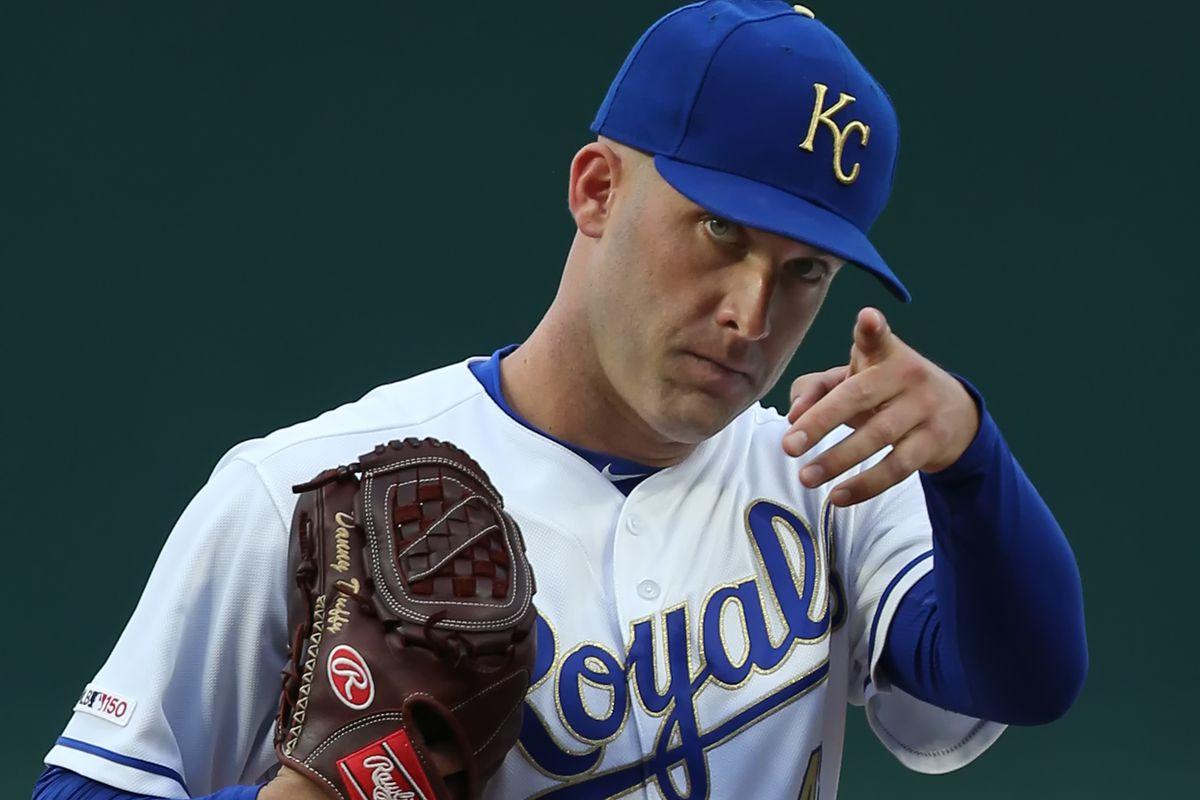 MLB: APR 26 Angels at Royals
