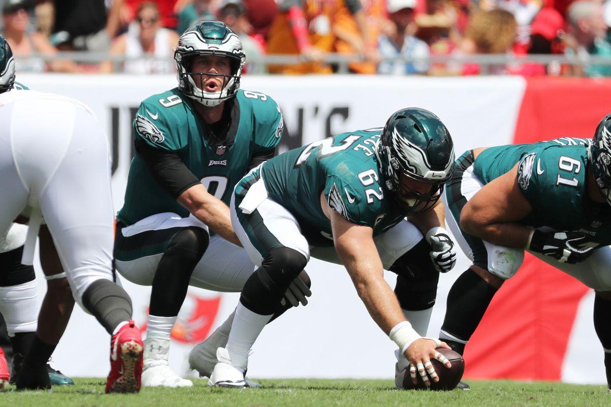 Eagles News Jason Kelce Says Nick Foles Being A Backup