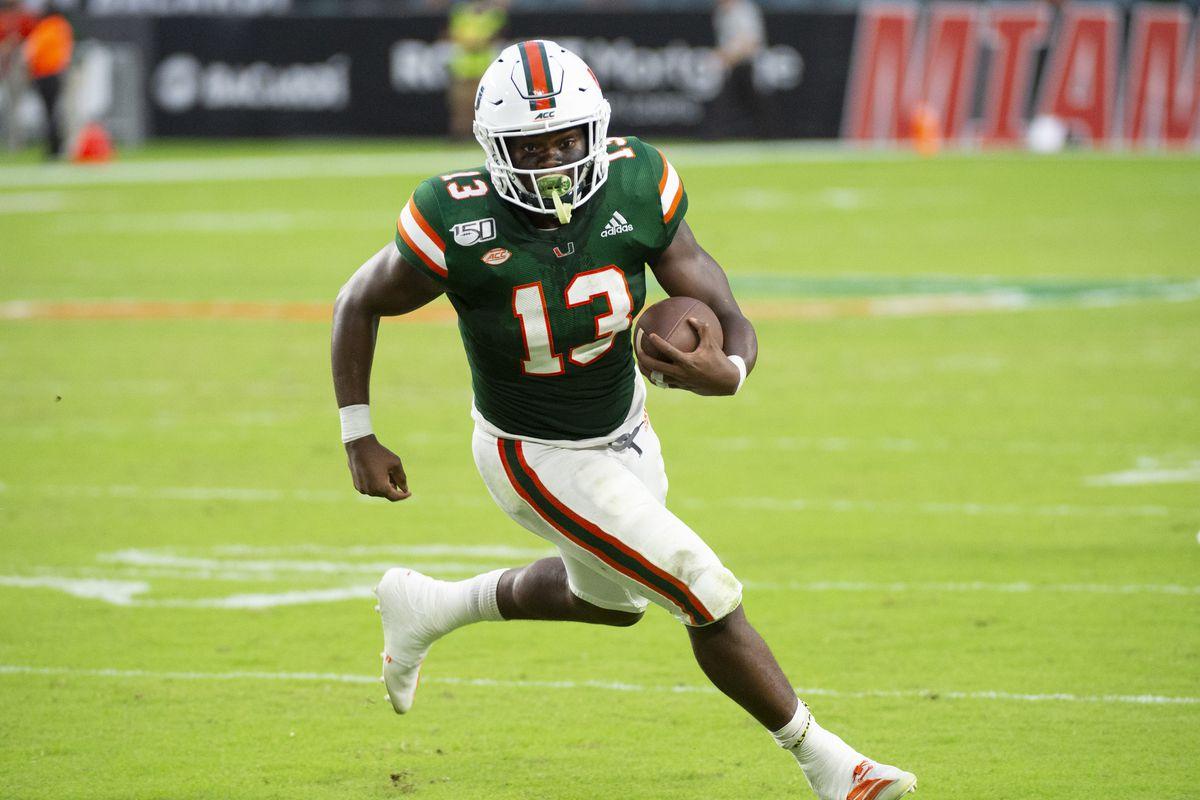 COLLEGE FOOTBALL: SEP 21 Central Michigan at Miami