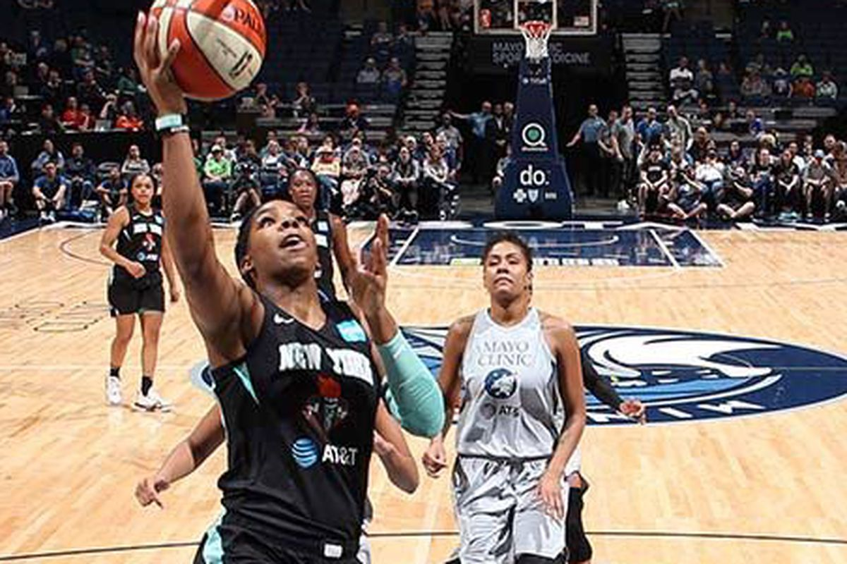 Short-handed Liberty lose to Lynx in Minneapolis