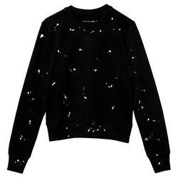 "Rag and Bone splatter paint sweater, <a href=""http://otteny.com/splatter-paint-sweater.html"">$255</a> at Otte"