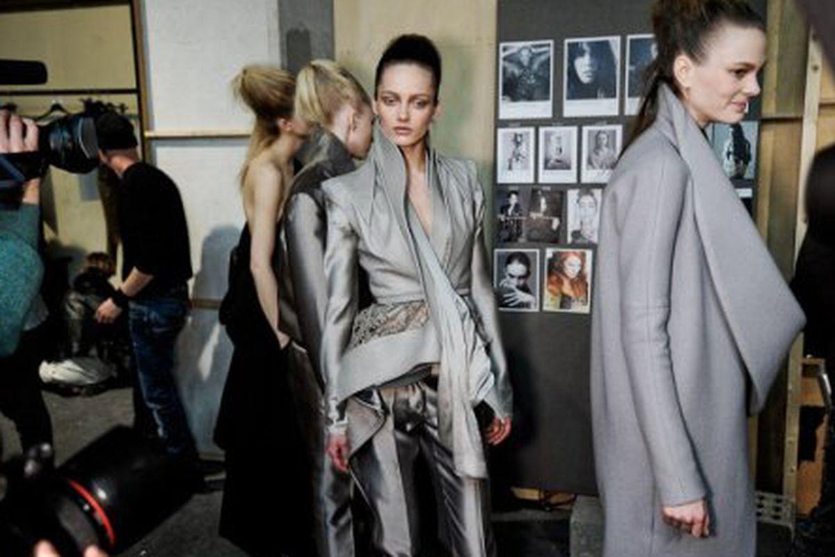 """Image via <a href=""""http://www.dazeddigital.com/Fashion/article/7002/1/Haider_Ackermann_AW_10-11"""">Dazed Digital</a>"""