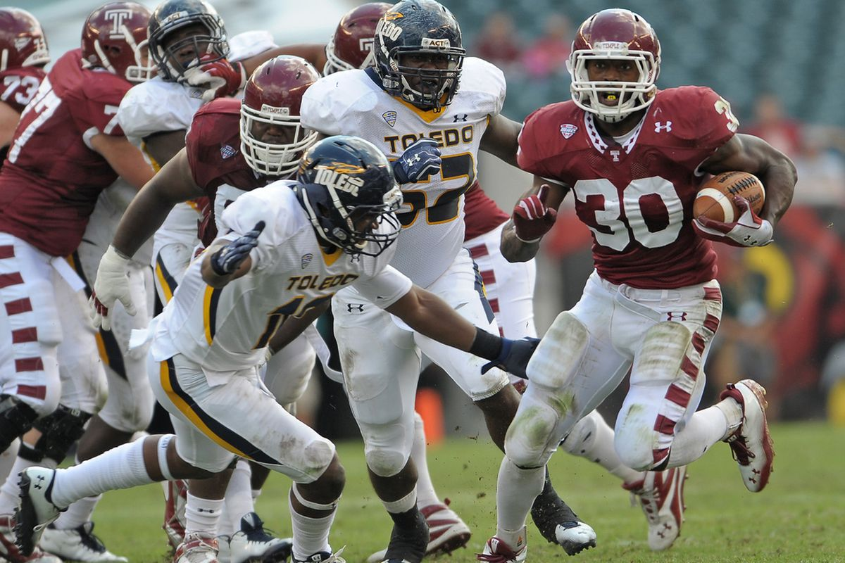 Toledo-Temple was a rout the first time and they met in the Dream League this week. This'll put the simulation to the test. Eric Hartline-US PRESSWIRE