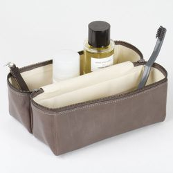 """<strong>Issac Reina</strong> Large Travel Box Kit in Anthracite, <a href=""""http://projectno8.com/large-box-for-travel-skin/dp/5193"""">$522</a> at Project No. 8"""