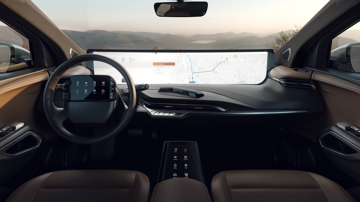 Byton Adds Another Screen To Its Car Full Of Screens The Verge