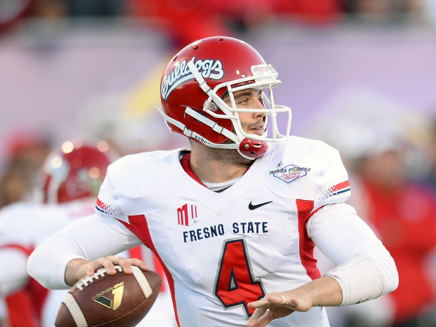 low priced f7b0b e5425 Fresno State to retire Derek Carr's jersey - Silver And ...