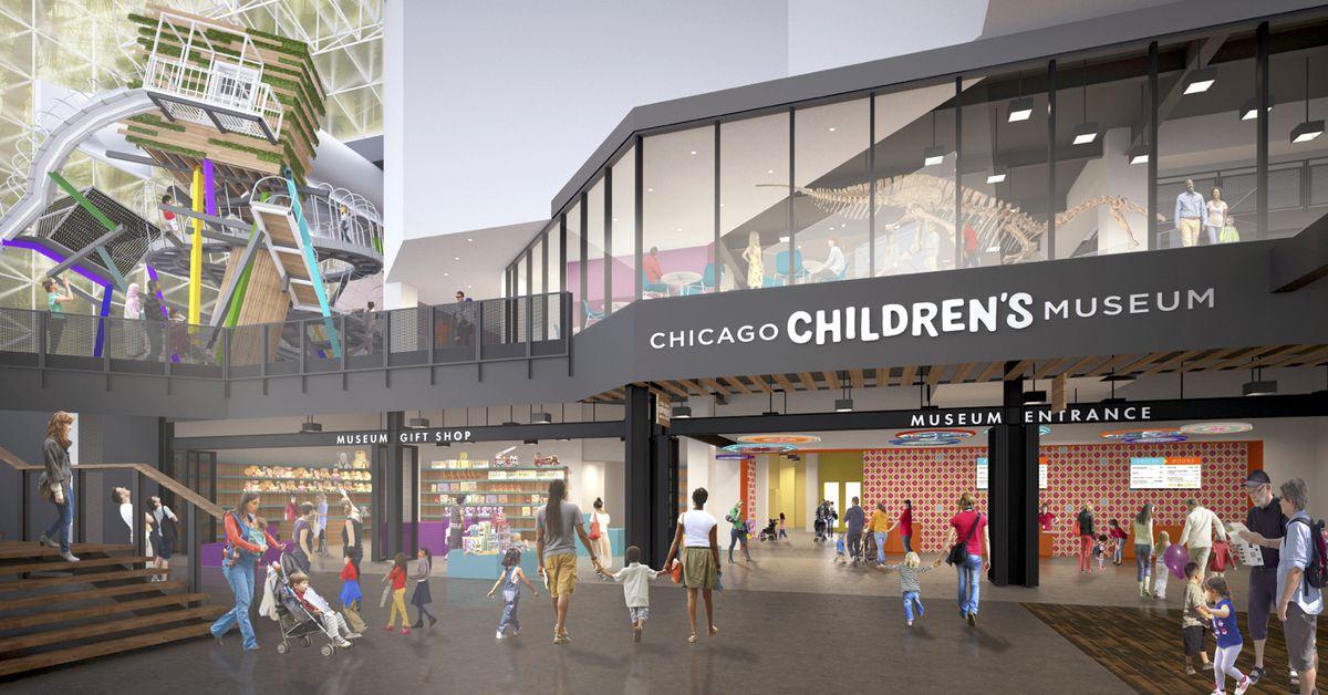 Chicago S Best Interior Designer: Chicago Children's Museum Gets Redesign, New Climbing Wall