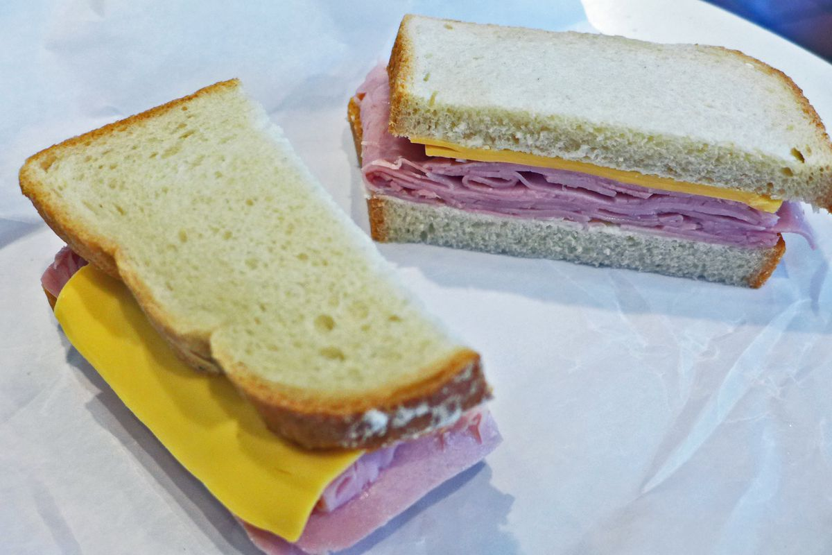 The lunch counter classic ham and cheese