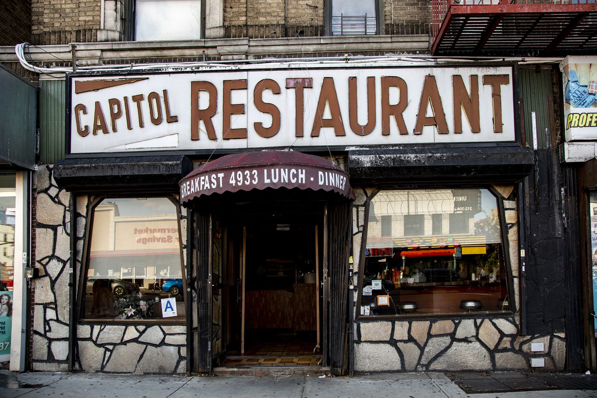 Capitol_Restaurant_exterior A Look Inside the Historic NYC Diners Still Keeping Traditions Alive