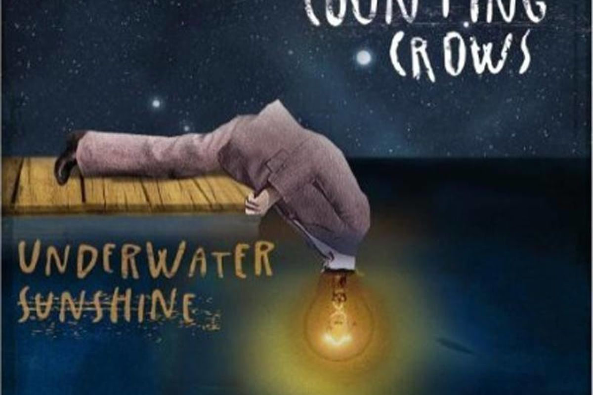 """In this CD cover image released by Collective Sounds, the latest release by Counting Crows, """"Underwater Sunshine,"""" is shown."""