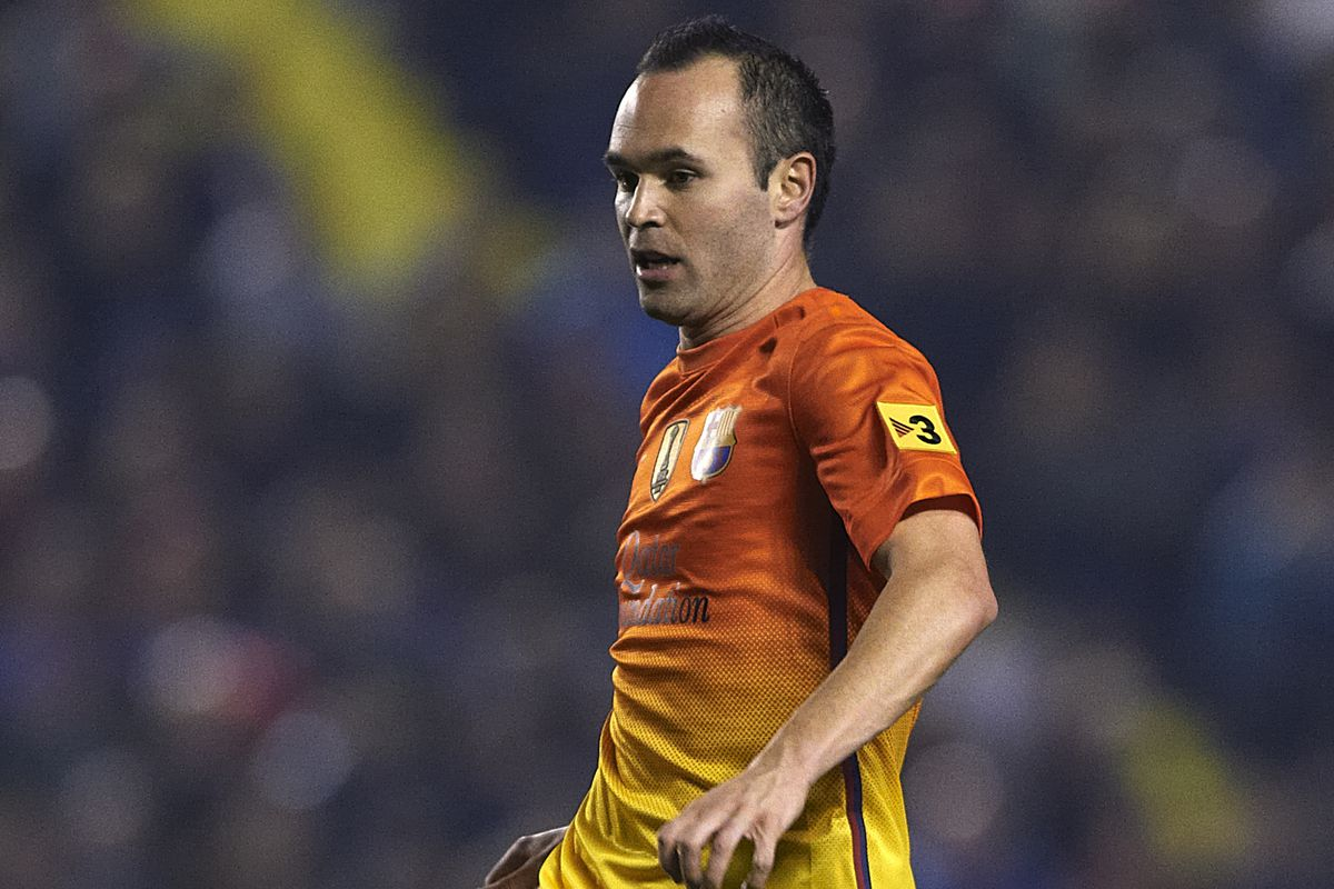 Iniesta will not be making the trip with the team.