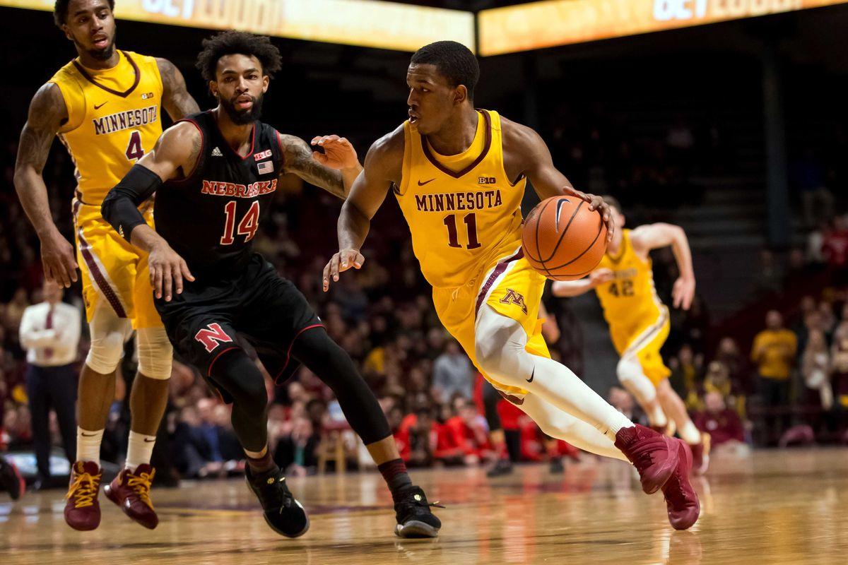 NCAA Basketball: Nebraska at Minnesota