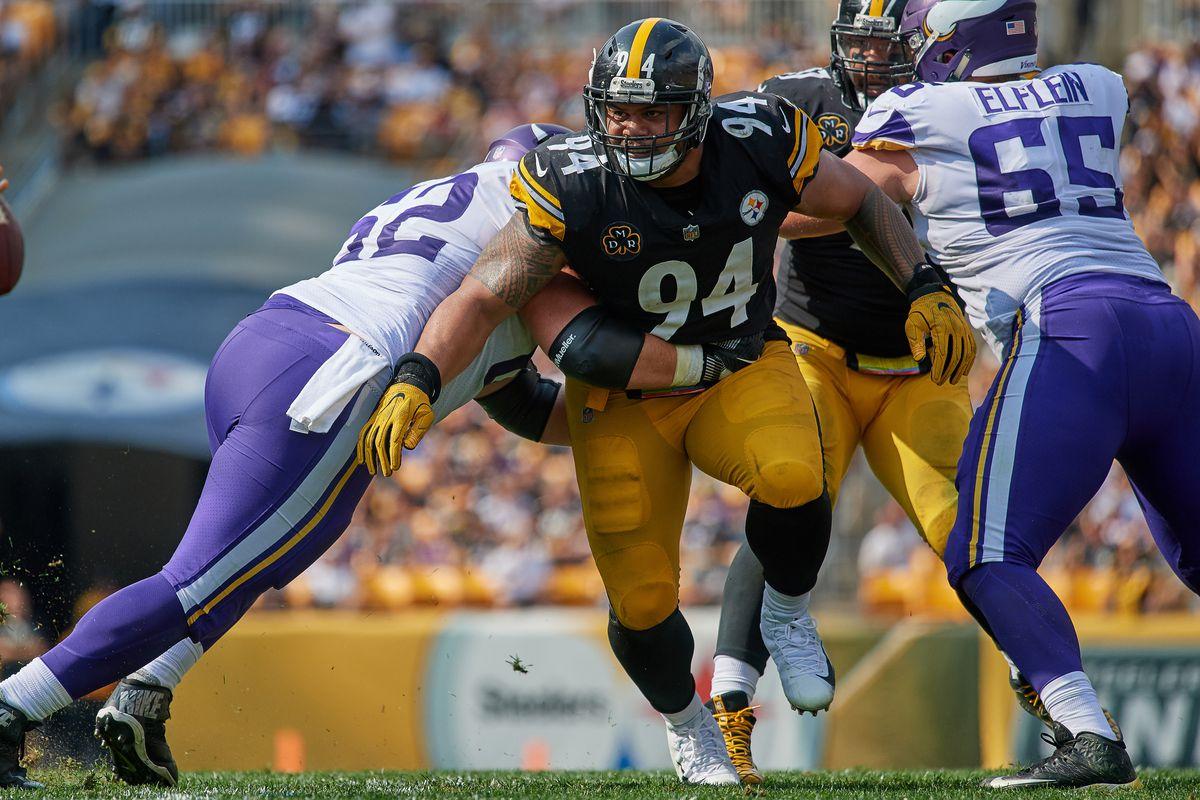 NFL: SEP 17 Vikings at Steelers