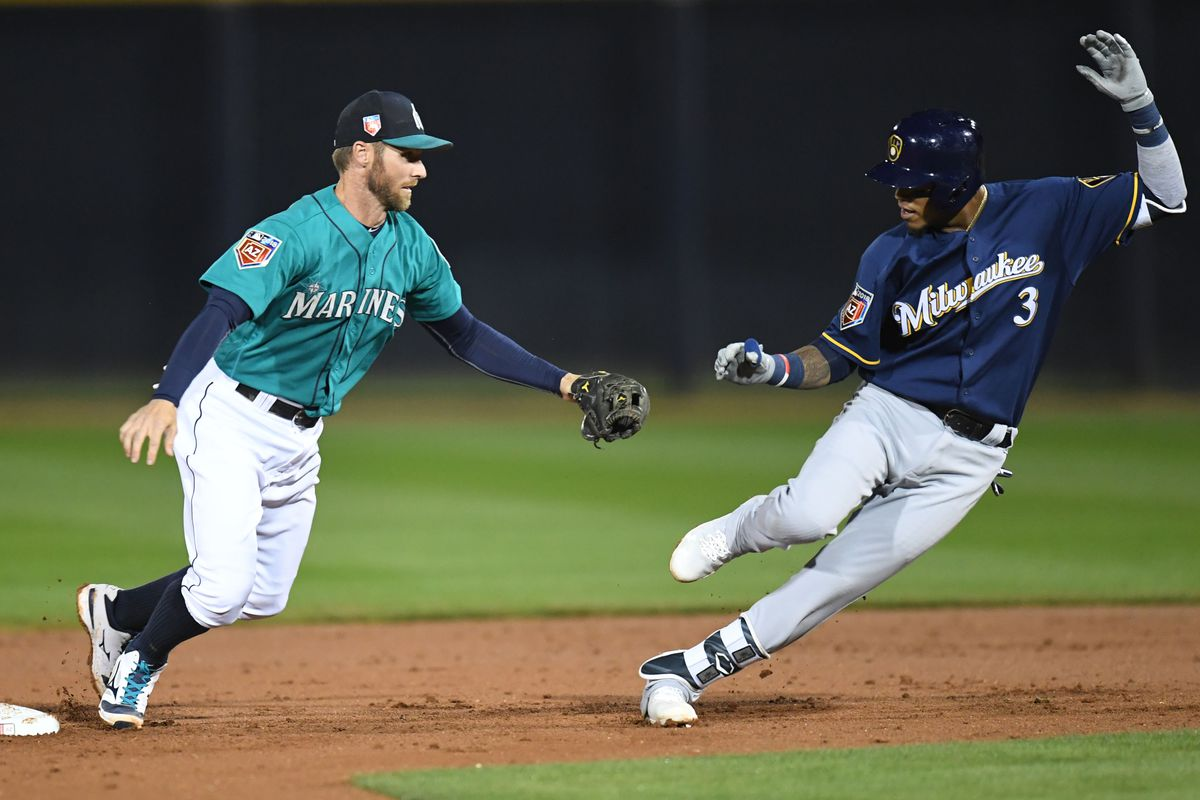MLB: Spring Training-Milwaukee Brewers at Seattle Mariners