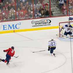 Ovechkin Scores on the Power Play