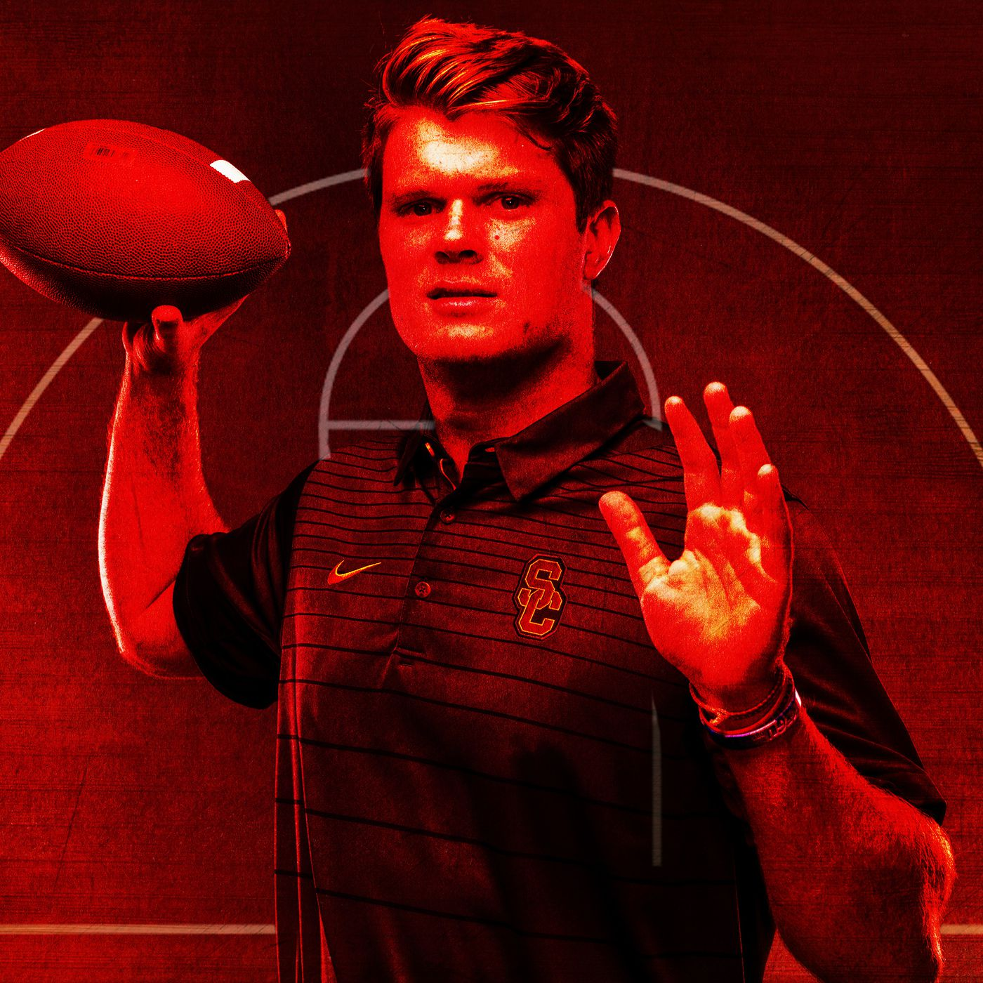 How Basketball Helped Usc S Sam Darnold Become College