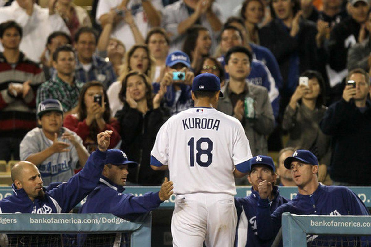 The last time Hiroki Kuroda and Roy Halladay matched up, the Phillies didn't get their first hit until the eighth inning.