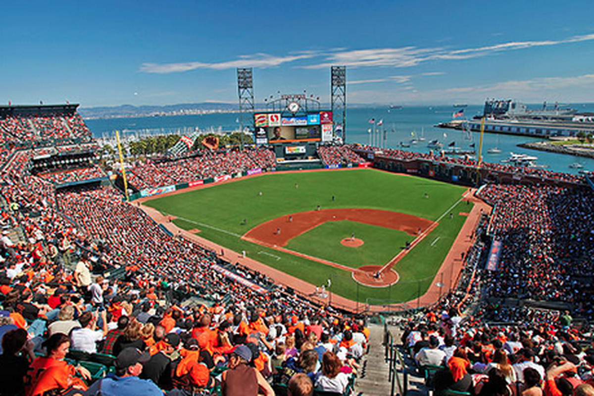 Image result for att park sf giants