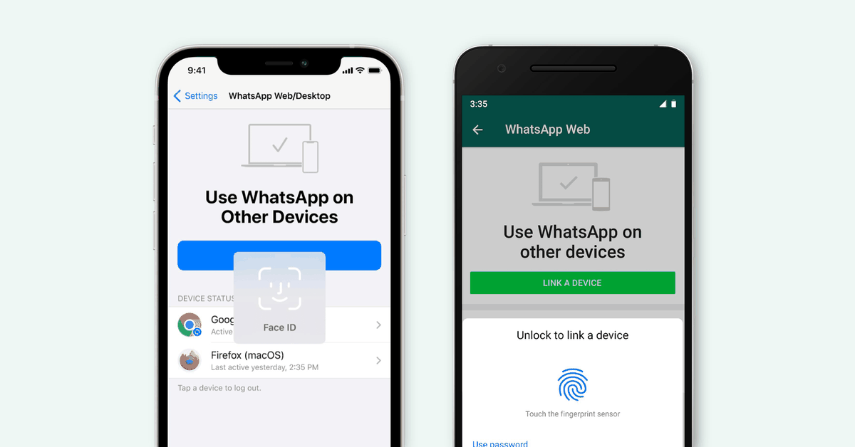 WhatsApp adds biometric authentication for logging in on desktop thumbnail