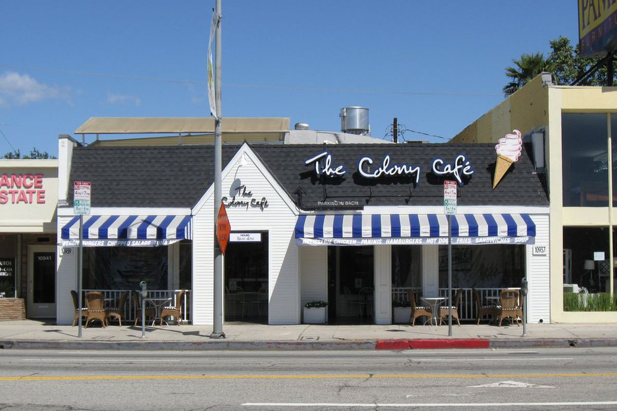 The Colony Cafe, West LA